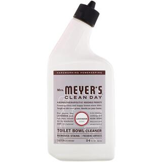 Mrs. Meyers Clean Day, منظف للمرحاض، برائحة الخزامى، عبوة بحجم 24 أونصة سائلة (710 مل)