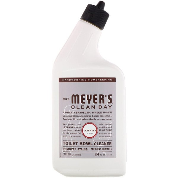 Mrs. Meyers Clean Day, Toilet Bowl Cleaner, Lavender Scent, 24 fl oz (710 ml)