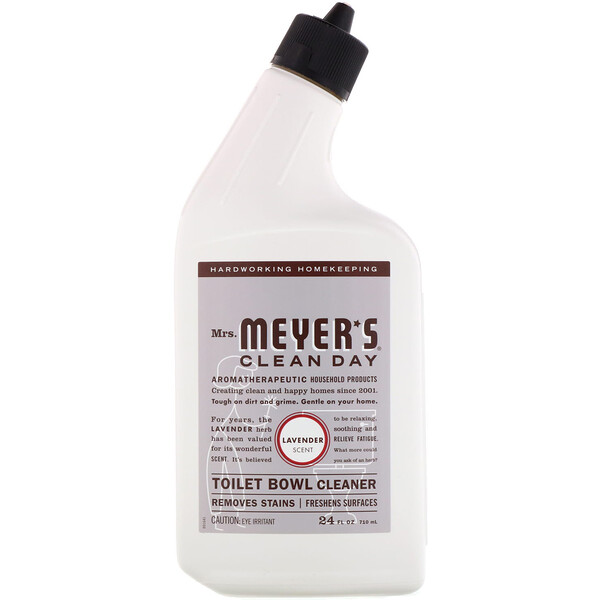 Toilet Bowl Cleaner, Lavender Scent, 24 fl oz (710 ml)