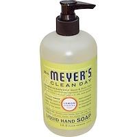 Mrs. Meyers Clean Day, 액체 핸드 소프, 레몬 버베나 향, 12.5 플루 온즈 (370 ml)
