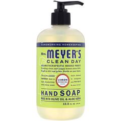 Mrs. Meyers Clean Day, 洗手液,檸檬馬鞭草味,12.5 盎司(370 毫升)
