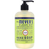 Mrs. Meyers Clean Day, Hand Soap, Lemon Verbena Scent, 12.5 fl oz (370 ml)
