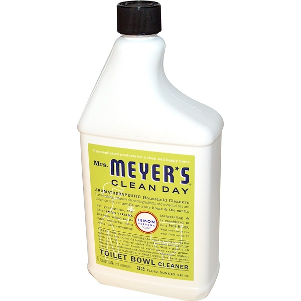 Mrs. Meyers Clean Day, Toilet Bowl Cleaner, Lemon Verbena Scent, 32 fl oz (946 ml) (Discontinued Item)