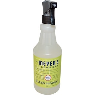 Mrs. Meyers Clean Day, Glass Cleaner, Lemon Verbena Scent, 24 fl oz (708 ml)