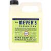 Mrs. Meyers Clean Day, 液体ハンドソープ レフィル、 レモンバーベナの香り、 33液量オンス (975 ml)