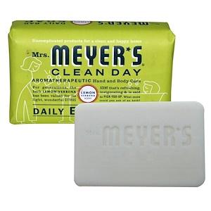 Мрс Мэйерс Клин Дэй, Daily Bar Soap, Lemon Verbena, 5.3 oz (150 g) отзывы