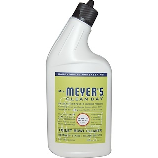 Mrs. Meyers Clean Day, Toilet Bowl Cleaner, Lemon Verbena Scent, 24 fl oz (710 ml)