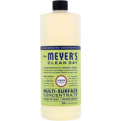 Multi-Surface Concentrated Cleaner, Lemon Verbena, 32 fl oz (946 ml)