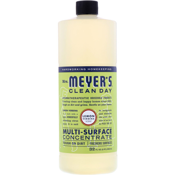 Multi-Surface Concentrate, Lemon Verbena Scent, 32 fl oz (946 ml)