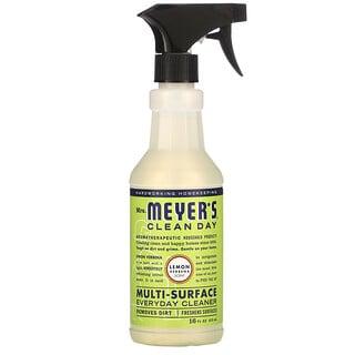 Mrs. Meyers Clean Day, Multi-Surface Everyday Cleaner, Lemon Verbena Scent, 16 fl oz (473 ml)