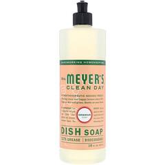 Mrs. Meyers Clean Day, 洗潔精,天竺葵香,16 用例盎司(473 毫升)