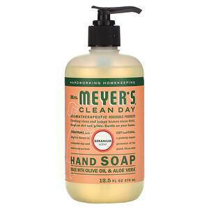 Мрс Мэйерс Клин Дэй, Hand Soap, Geranium Scent, 12.5 fl oz (370 ml) отзывы покупателей