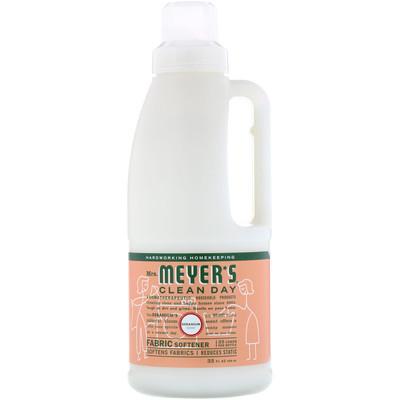 Кондиционер для белья, с запахом герани, 32 жидких унций (946 мл) кондиционер для белья с запахом