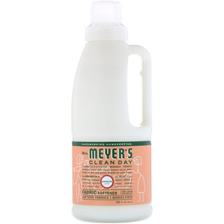 Mrs. Meyers Clean Day, Fabric Softener, Geranium Scent, 32 fl oz (946 ml)
