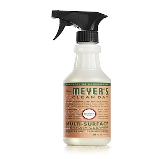 Mrs. Meyers Clean Day, Muti-Surface Everyday Cleaner, Geranium Scent, 16 fl oz (473 ml)