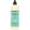 Mrs. Meyers Clean Day, Detergente Lavavajillas Líquido, Aroma a Albahaca, 16 fl oz (473 ml)