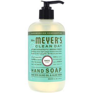Мрс Мэйерс Клин Дэй, Hand Soap, Basil Scent, 12.5 fl oz (370 ml) отзывы покупателей