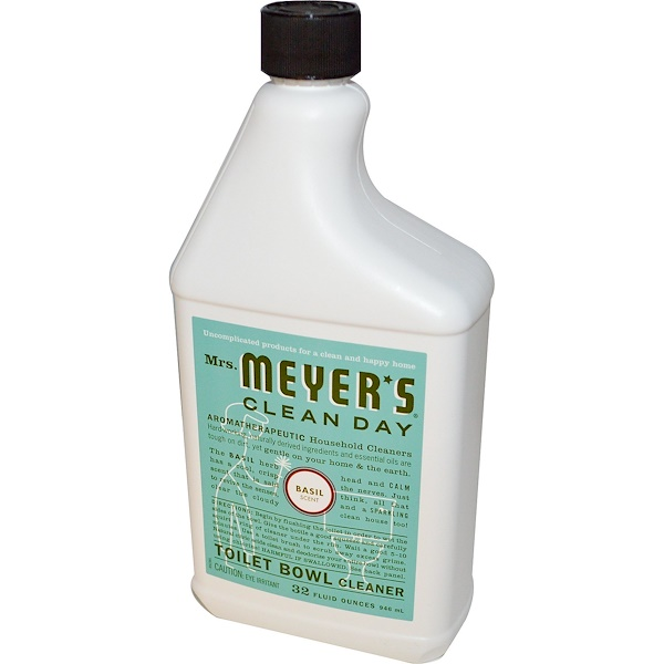 Mrs. Meyers Clean Day, Toilet Bowl Cleaner, Basil Scent, 32 fl oz (946 ml) (Discontinued Item)