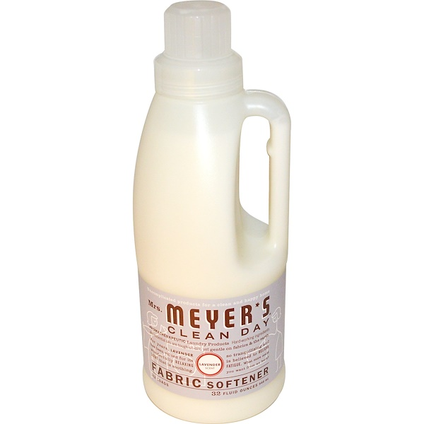 Mrs. Meyers Clean Day, Fabric Softener, Lavender Scent, 32 loads, 32 fl oz (946 ml)