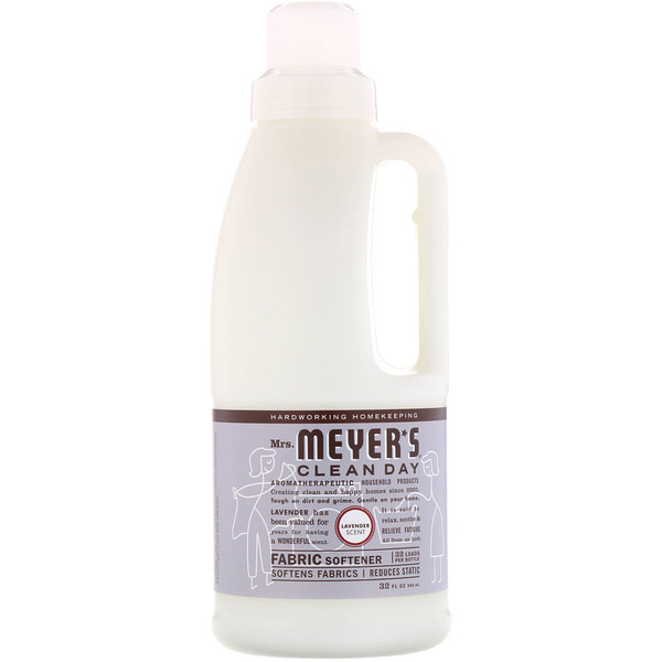 Mrs. Meyers Clean Day, Fabric Softener, Lavender Scent, 32 fl oz (946 ml)
