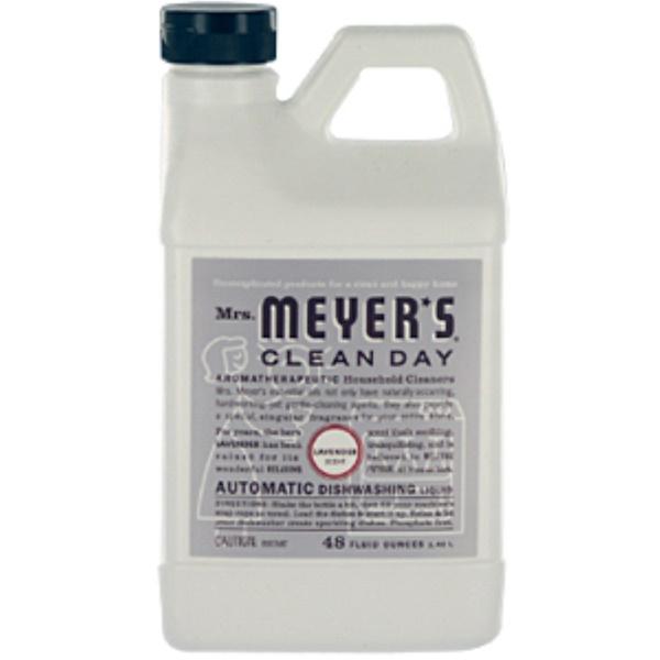 Mrs. Meyers Clean Day, Automatic Dishwashing Liquid, Lavender, 48 fl oz (1.42 l) (Discontinued Item)