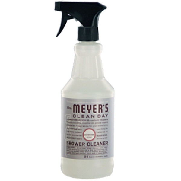 Mrs. Meyers Clean Day, Shower Cleaner, Lavender Scent, 24 fl oz (708 ml) (Discontinued Item)