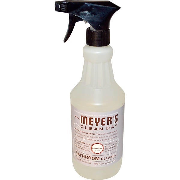 Mrs. Meyers Clean Day, Bathroom Cleaner, Lavender, 24 fl oz (708 ml) (Discontinued Item)
