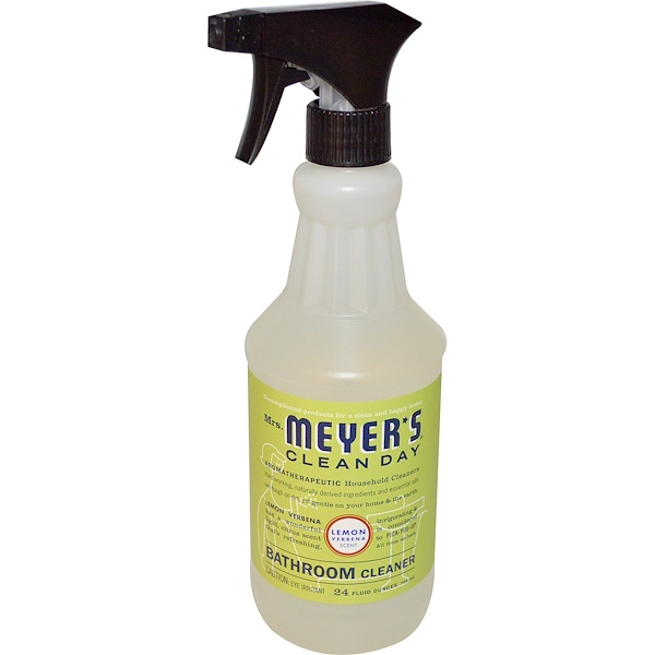 Mrs. Meyers Clean Day, Bathroom Cleaner, Lemon Verbena Scent , 24 fl oz (708 ml) (Discontinued Item)