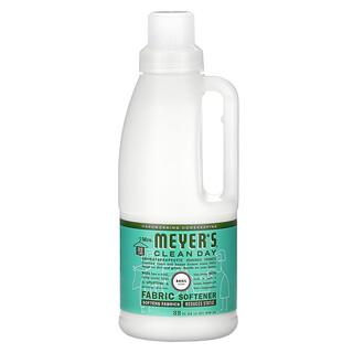Mrs. Meyers Clean Day, Fabric Softener, Basil, 32 fl oz (946 ml)