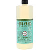 Mrs. Meyers Clean Day, Multi-Surface Concentrated Cleaner, Basil, 32 fl. oz.