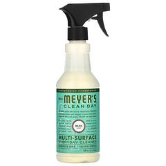 Mrs. Meyers Clean Day, 多功能日常清潔劑,羅勒味,16 盎司(473 毫升)