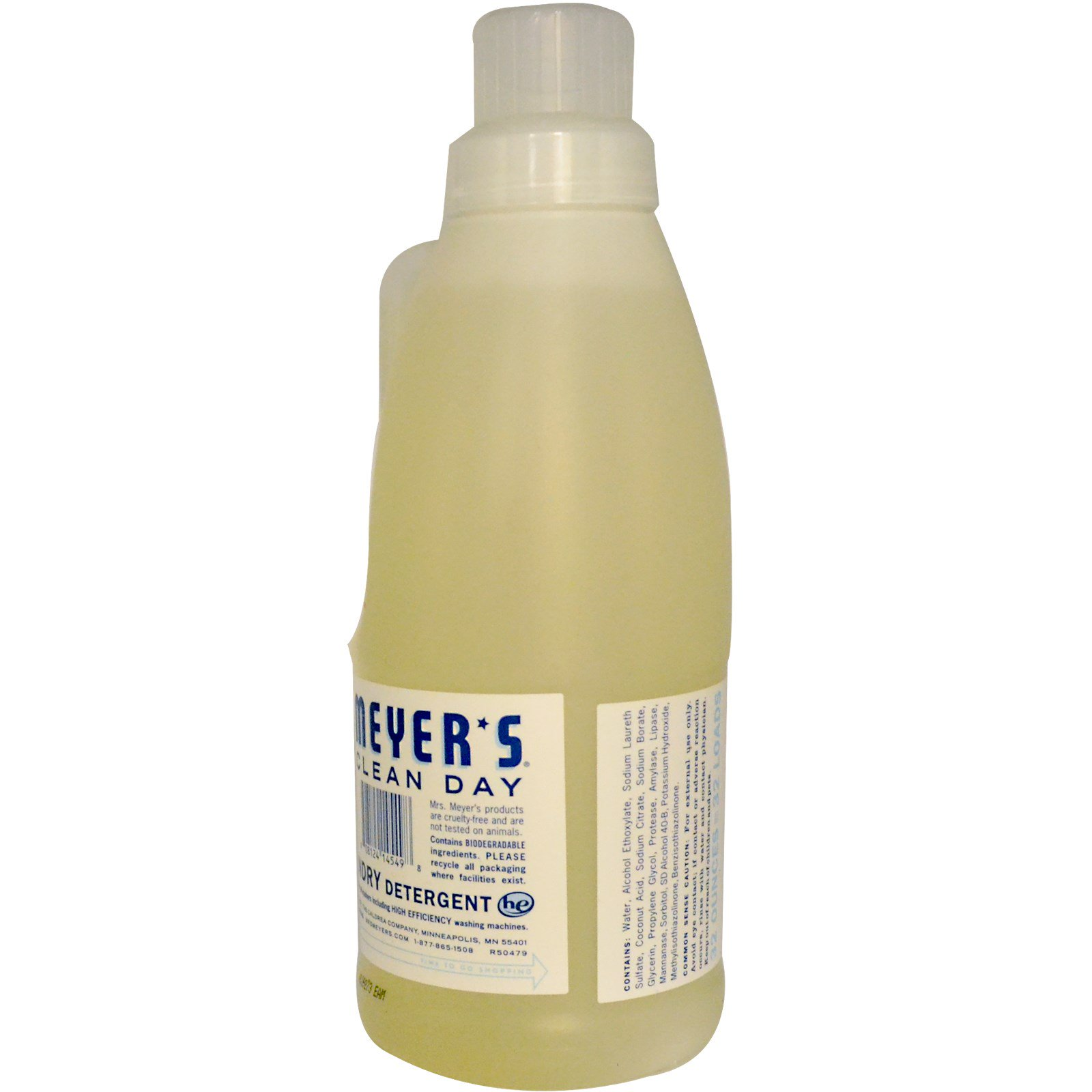 Mrs  Meyers Clean Day, Laundry Detergent Concentrated, Scent