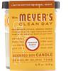 Mrs. Meyers Clean Day, Vela de soja edición limitada con aroma de naranja y clavo, 4,9 onzas (140 g)