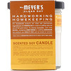 Mrs. Meyers Clean Day, Scented Soy Candle, Orange Clove Scent, 4.9 oz (140 g)
