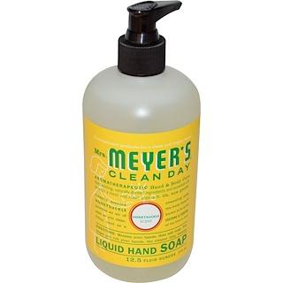 Mrs. Meyers Clean Day, Liquid Hand Soap, Honeysuckle Scent, 12.5 fl oz (370 ml)