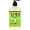 Mrs. Meyers Clean Day, Hand Soap, Apple Scent, 12.5 fl oz (370 ml)