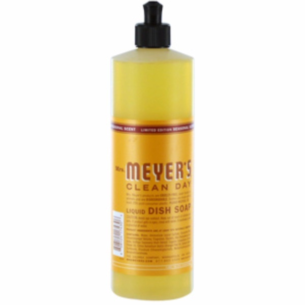 Mrs. Meyers Clean Day, Liquid Dish Soap, Orange Clove Scent, 16 fl oz (473 ml) (Discontinued Item)