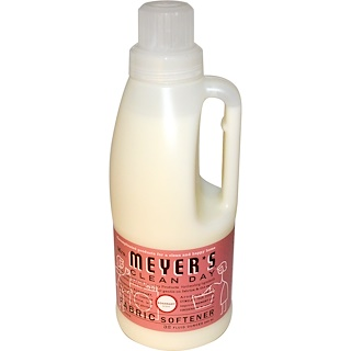 Mrs. Meyers Clean Day, Fabric Softener, Rosemary Scent, 32 Loads, 32 fl oz (946 ml)