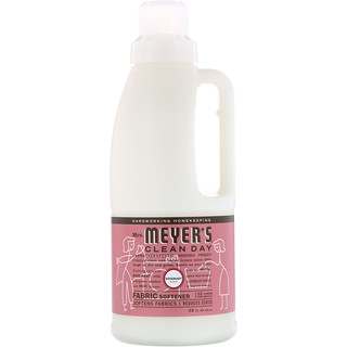 Mrs. Meyers Clean Day, Fabric Softener, Rosemary Scent, 32 fl oz (946 ml)