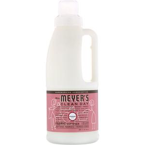 Мрс Мэйерс Клин Дэй, Fabric Softener, Rosemary Scent, 32 fl oz (946 ml) отзывы