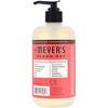 Mrs. Meyers Clean Day, Hand Soap, Rhubarb Scent, 12.5 fl oz (370 ml)