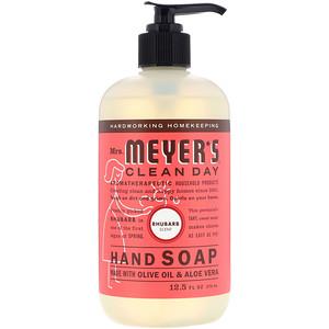 Мрс Мэйерс Клин Дэй, Hand Soap, Rhubarb Scent, 12.5 fl oz (370 ml) отзывы