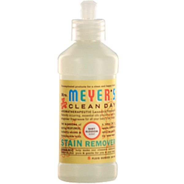 Mrs. Meyers Clean Day, Stain Remover, Baby Blossom, 8 fl oz (236 ml) (Discontinued Item)