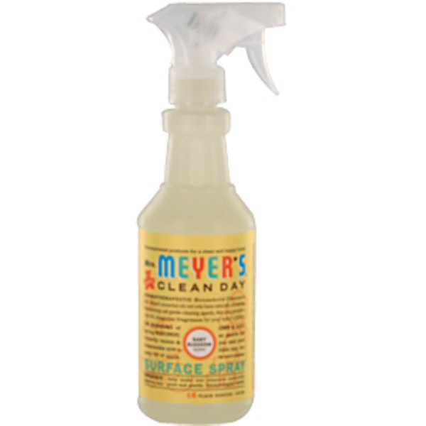 Mrs. Meyers Clean Day, Surface Spray, Baby Blossom Scent, 16 fl oz (473 ml) (Discontinued Item)