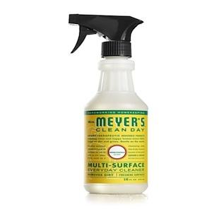 Mrs. Meyers Clean Day, Средство для очищения различного рода поверхностей, с запахом жимолости, 16 жидких унций (473 мл)