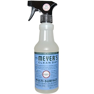 Mrs. Meyers Clean Day, Multi-Surface Everyday Cleaner, Bluebell Scent, 16 fl oz (473 ml)