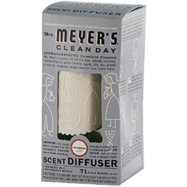 Mrs. Meyers Clean Day, Scent Diffuser, Lavender, .71 fl oz (21 ml) (Discontinued Item)