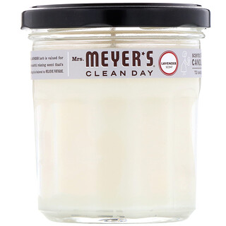 Mrs. Meyers Clean Day, Scented Soy Candle, Lavender Scent, 7.2 oz