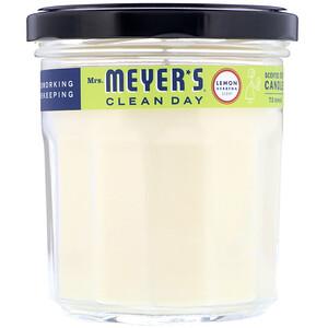 Мрс Мэйерс Клин Дэй, Scented Soy Candle, Lemon Verbena Scent, 7.2 oz (204 g) отзывы покупателей