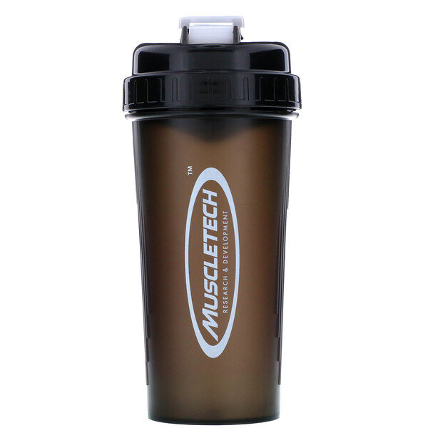 Muscletech, Typhoon Shaker Cup, Black, 24 oz (700 ml) (Discontinued Item)